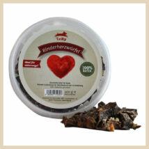 Leiky 100% szárított marha szív falatkák