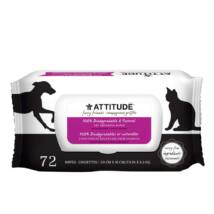 Attitude - 100%-ban lebomló öko törlőkendő 72 db