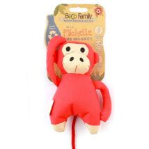 Beco Pets - Michelle a Majom állatfigura, újrahasznosított anyagból készült,méreganyagmentes, sípoló