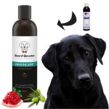 Hund und Herrchen - Plüssmackó bio kutyasampon fekete, sötét szőrre