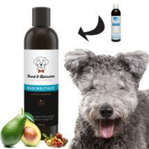 Hund und Herrchen - Kis kócos bio kutyasampon hosszú, hullámos szőrre