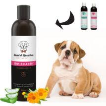 Hund und Herrchen - Mimóza bio kutyasampon kölyökkutyáknak, érzékeny és problémás bőrre