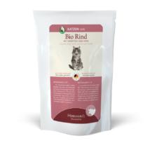 Bio marhahús menü macskáknak - sárgarépa, köles 5 x 100 g