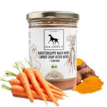 Lila Loves It - Bio sárgarépa leves kurkumával hasmenés ellen kutyáknak és cicáknak