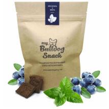 My Bulldog Egészséges Jutalomfalat keksz kutyáknak - Kék áfonya, Menta