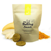 My Bulldog Egészséges Jutalomfalat keksz kutyáknak - Banán, Kurkuma