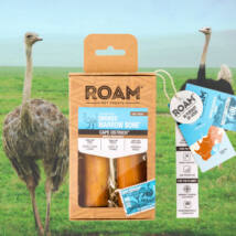 ROAM - 100% strucc lábszárcsont rágóka kutyáknak, füstölt (2db)