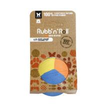 Rubb'n'Color - Méreganyagmentes és környezetbarát labda, különböző színű 6 cm