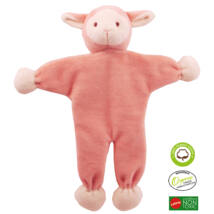 Simply Fido - Méreganyagmentes és környezetbarát, bio pamut állatfigura, bárány 23 cm