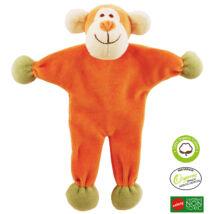 Simply Fido - Méreganyagmentes és környezetbarát, bio pamut állatfigura, majom 23 cm