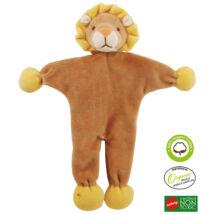 Simply Fido - Méreganyagmentes és környezetbarát, bio pamut állatfigura, oroszlán 23 cm