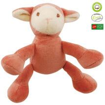 Simply Fido - Méreganyagmentes és környezetbarát, bio pamut állatfigura, bárány kis kutyáknak, 10 cm