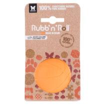 Rubb'n'Roll - Méreganyagmentes és környezetbarát labda, narancssárga 7 cm