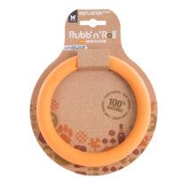 Rubb'n'Roll - Méreganyagmentes és környezetbarát karika, narancssárga 14,5 cm