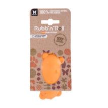 Rubb'N'Float - Vízen fennmaradó, méreganyagmentes és környezetbarát tömb, narancssárga 10 cm