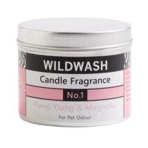 WildWash Pro - 100% természetes szagsemlegesítő és aromaterápiás gyertya - Ylang ylang, Magnólia
