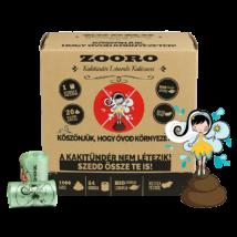 Zooro - Kakitündér Lebomló Kakizacskó, 1080 db-os kiszerelés