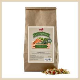 Leiky 100% zöldség köret - cukkini, sárgarépa, paszternák, 500 g