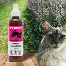 Probiotikumos bőr- és szőrápoló spray macskáknak 250 ml, Greenman