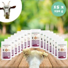 Kecskehús menü érzékenyeknek - cékla, köles 15 x 150 g