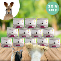 100% kenguruhús monoprotein 12 x 200 g