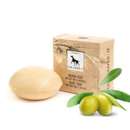 Bio kutyaszappan prémium olívaolajjal és aloe verával, Lila Loves It