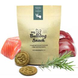 My Bulldog Egészséges Jutalomfalat keksz kutyáknak - Marhamáj, lazacolaj, rozmaring