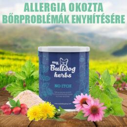 My Bulldog Herbs - No Itch, allergiás kutyák bőrproblémáinak enyhítésére, immunrendszer erősítésére