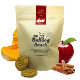 My Bulldog Egészséges Jutalomfalat keksz kutyáknak - Fahéjas alma, sütőtök (szezonális, csak ősszel érhető el)