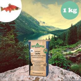 Naturavetal Lazac monoprotein kisebb szemű száraztáp 1 kg - hidegen sajtolt, allergiás kutyáknak