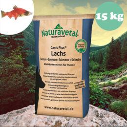 Naturavetal Lazac monoprotein száraztáp 15 kg - hidegen sajtolt, allergiás kutyáknak