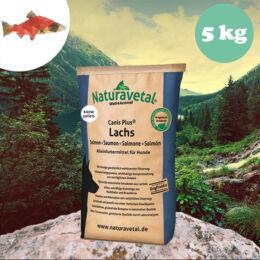 Naturavetal Lazac monoprotein kisebb szemű száraztáp 5 kg - hidegen sajtolt, allergiás kutyáknak