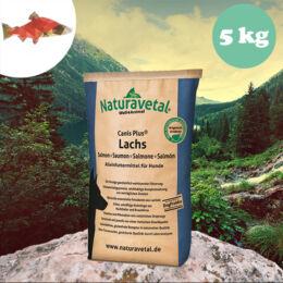 Naturavetal Lazac monoprotein száraztáp 5 kg - hidegen sajtolt, allergiás kutyáknak