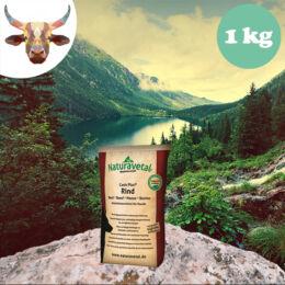 Naturavetal Marhahús monoprotein száraztáp 1 kg - hidegen sajtolt, allergiás kutyáknak