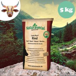 Naturavetal Marhahús monoprotein száraztáp 5 kg - hidegen sajtolt, allergiás kutyáknak
