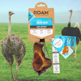 ROAM - 100% strucc térdcsont rágóka kutyáknak, füstölt