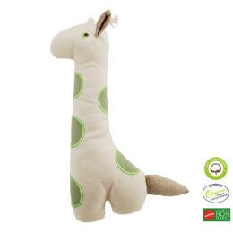 Simply Fido - Méreganyagmentes és környezetbarát, bio vászon állatfigura, zsiráf 34 cm