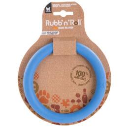 Rubb'n'Roll - Méreganyagmentes és környezetbarát karika, kék 14,5 cm