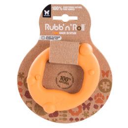 Rubb'N'Float - Vízen fennmaradó, méreganyagmentes és környezetbarát gyűrű, narancssárga 10 x 6 cm