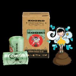 Zooro - Kakitündér lebomló és komposztálható Kakizacskó, 60 db-os kiszerelés
