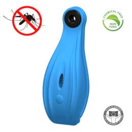 Zero Zzz Clip - Kemikáliamentes szúnyogriasztó biléta kutyáknak  - KÉK