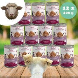 Bárányhús menü érzékenyeknek - mangold, krumpli 12 x 400 g