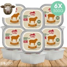 100% bárányhús és belsőségek 6 x 300 g, Leiky