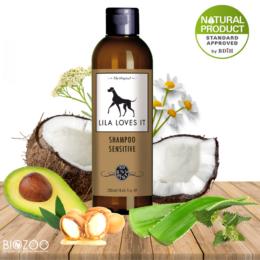 Bio kutyasampon érzékeny és problémás bőrre 250 ml, Lila Loves It