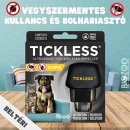 Beltéri ultrahangos kullancs- és bolhariasztó készülék kutyás és macskás háztartásokba, Tickless Home