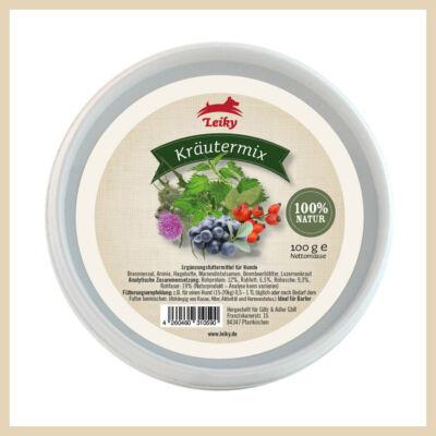 Leiky Gyógynövény mix - csalán, arónia, csipkebogyó, máriatövis mag, szederlevél, lucerna