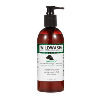 WildWash Pro - 100% természetes mélytisztító kutyasampon 1:32 = 9,6 liternyi
