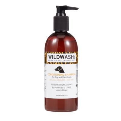 WildWash Pro - 100% természetes kutyasampon száraz, viszketős bőrre 1:32 = 9,6 liternyi