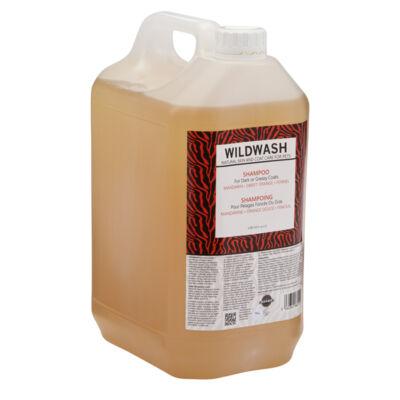 WildWash Pro - 100% természetes kutyasampon sötét vagy zsíros szőrre 1:32 = 160 liternyi