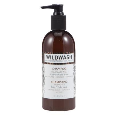 WildWash Pro - 100% természetes kutyasampon egészségesen fénylő bundáért - Cédrus 1:32 = 9,6 liternyi
